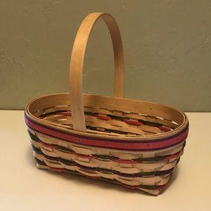 Large Longaberger Easter Basket